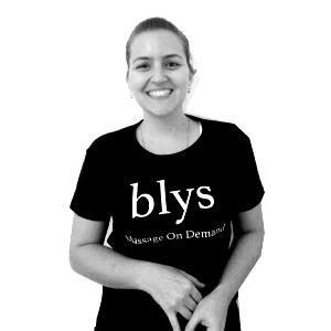Mobile Massage Therapist Sydney - Paula G - BW
