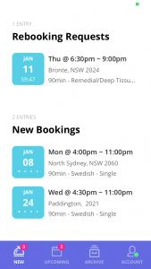 Blys massage therapist app - new offers