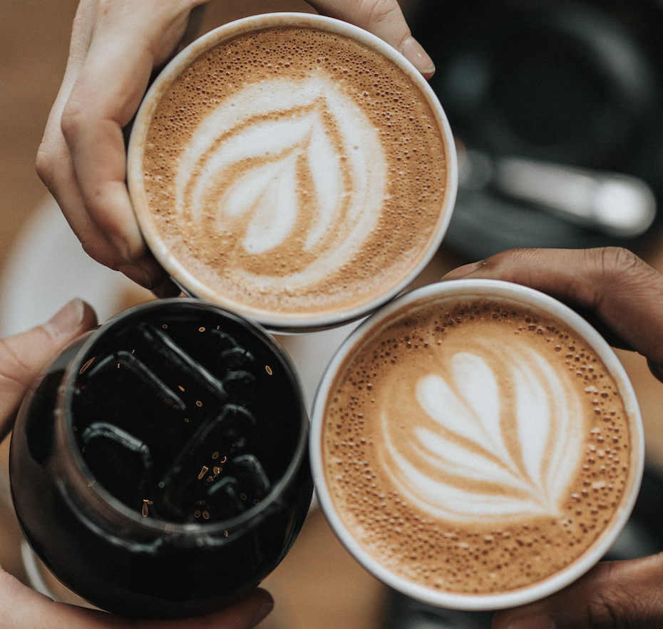 coffee break catch up office corporate massage on demand blys Sydney