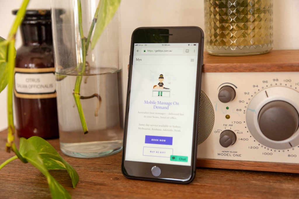 Blys Mobile App
