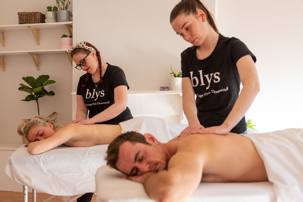couple's massage surprise