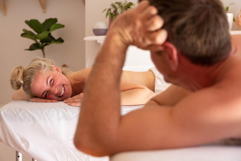 couple's massage surprise