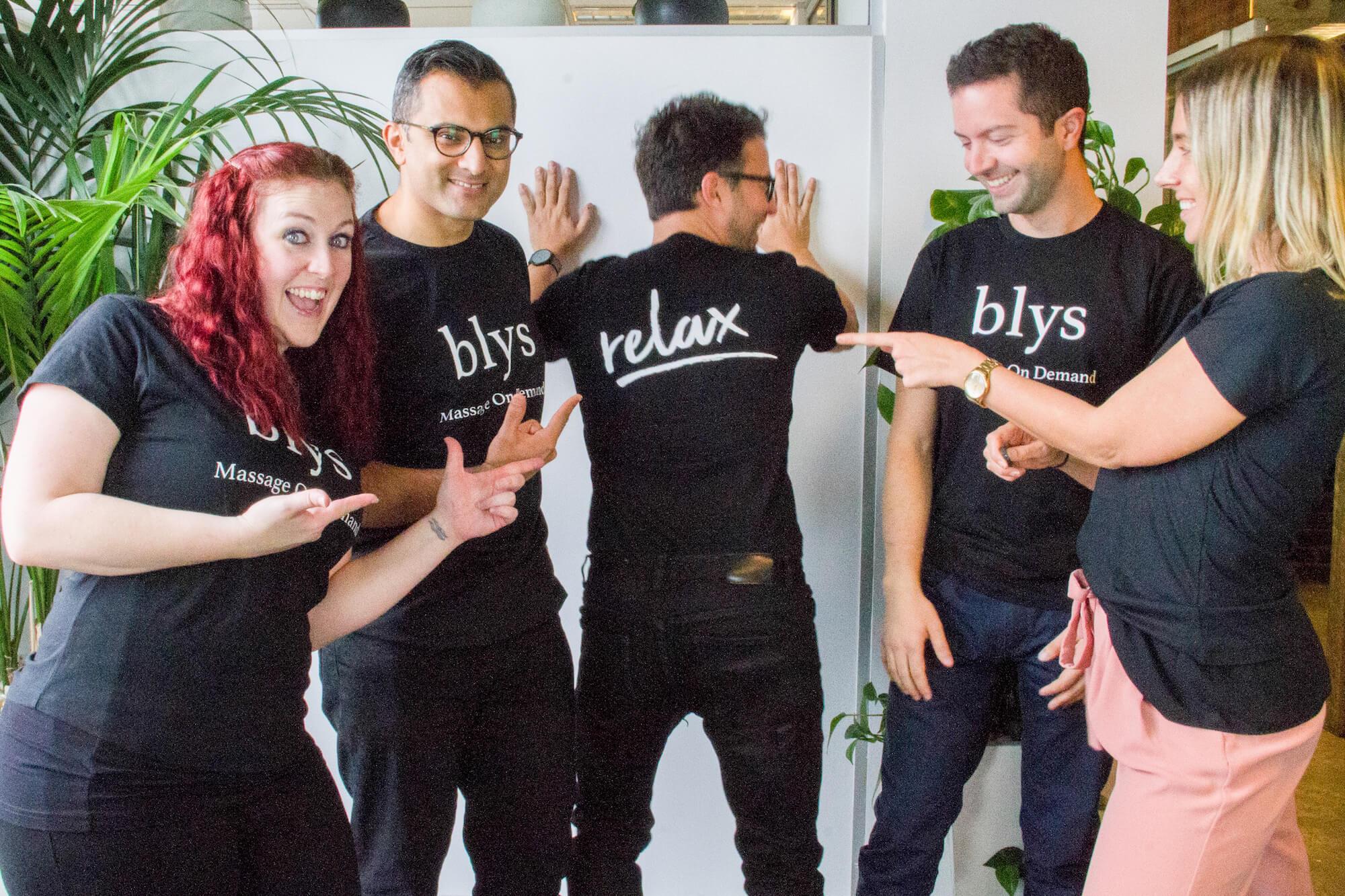 Blys Sydney team at HQ