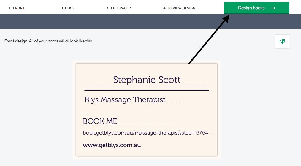 Blys massage booking