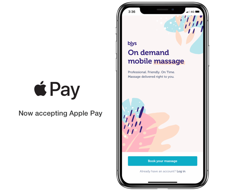 Apple pay now on Blys