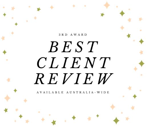 blys therapist awards